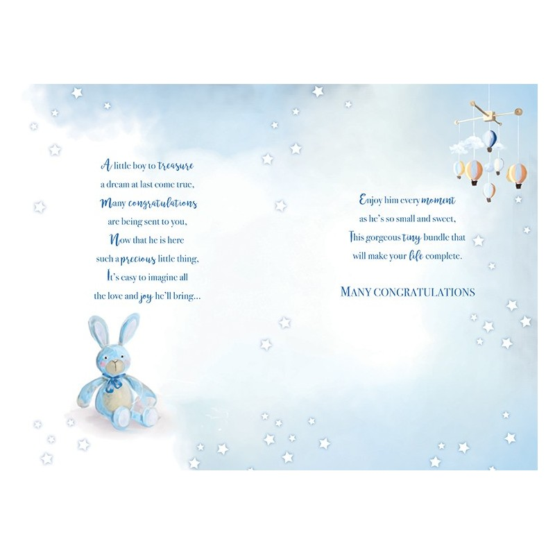 Son & Daughter In Law Pine Cones & Gifts Design Christmas Card Lovely Verse