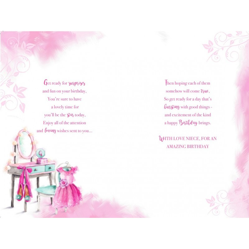 On Your December Birthday Presents Star Design Happy Card Lovely Verse