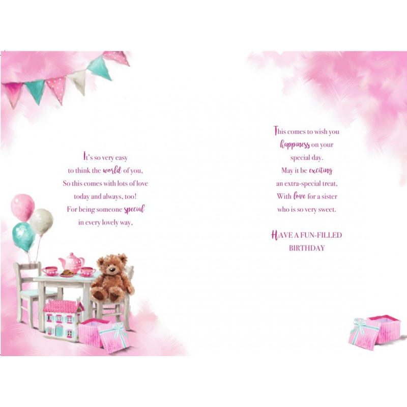 A Special Daughter & Son In Law On The Birth Of Your Baby Girl Feet Design Card