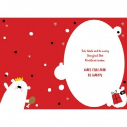 To Special Friends Embellished Christmas Card Hand-Finished Champagne Range Cards