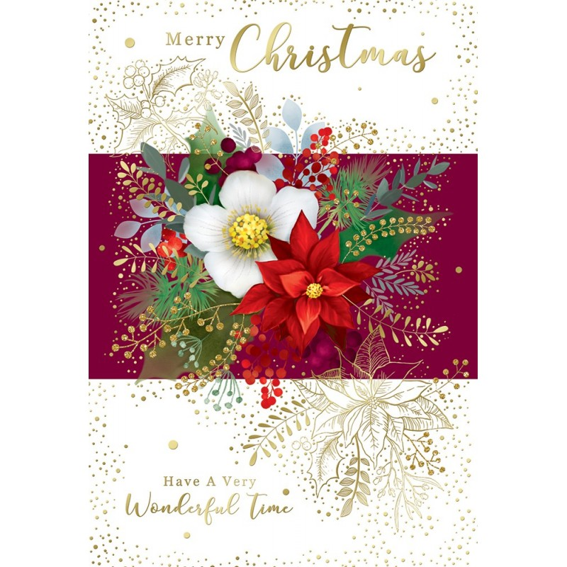 Sister In Law Cakes Flowers Present Design Happy Birthday Card Lovely Verse