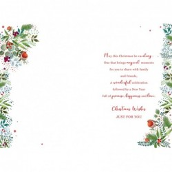 Special Sister Flowers Word & Butterfly Design Happy Birthday Card Lovely Verse