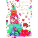Congratulations On Your Adoption Bright Unisex Word & Star Design Greeting Card