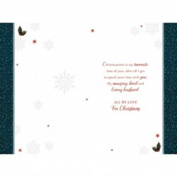 Art Deco ~ Have A Wonderful Birthday Daughter in Law Greetings Card Lovely Verse