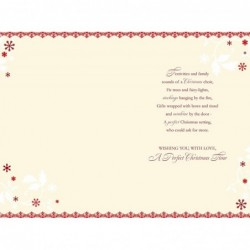 To A Special Godson On Your Christening Day Cross & Bootie Design Greeting Card