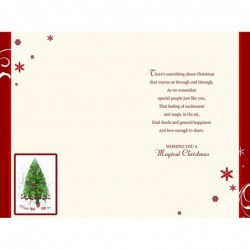 Wife Prosecco Wine Presents Ribbon Butterfly Design Happy Birthday Card