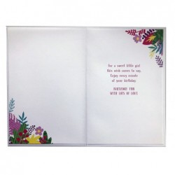 To A Special Goddaughter & Your Groom On Your Wedding Day Ring Design Card