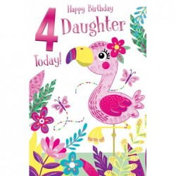 Great Granddaughter On Your Christening Day Design Quality Card Lovely Verse