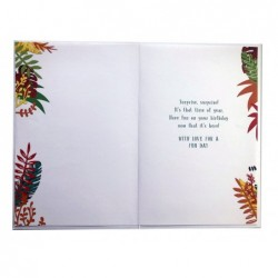 Niece & Husband On Your Anniversary Rose & Scroll Design Lovely Verse Card