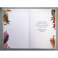 Grandson & Wife On Your Anniversary CoupleHolding Hands Design Lovely Verse Card