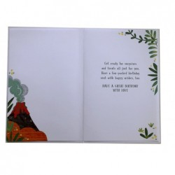 Son 18th 18 Number & Word Design Happy Birthday Card Lovely Verse
