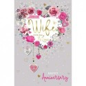 18th 21st 30th 40th Sister Present Shoe Design Happy Birthday Card Lovely Verse
