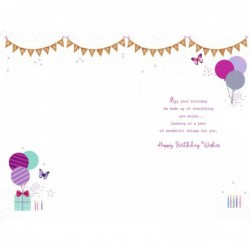 Age 60 60th Sister Friend Wife Mum Auntie Gran Nan Presents Happy Birthday Card