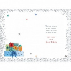 40th 40 Birthday Card 1981...