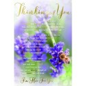 To All The Family At This Sad Time Design Lovely Verse Sympathy Condolence Card