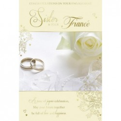 To My Mum & Your New Husband On Your Wedding Day Modern Dress Design Card