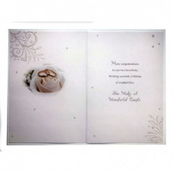Nephew 21 21st Word & Star Design Happy Birthday Card With A Lovely Verse