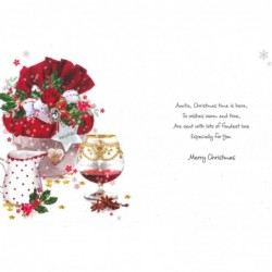 For A Special Friend Flowers & Butterfly Design Lovely Verse Happy Birthday Card