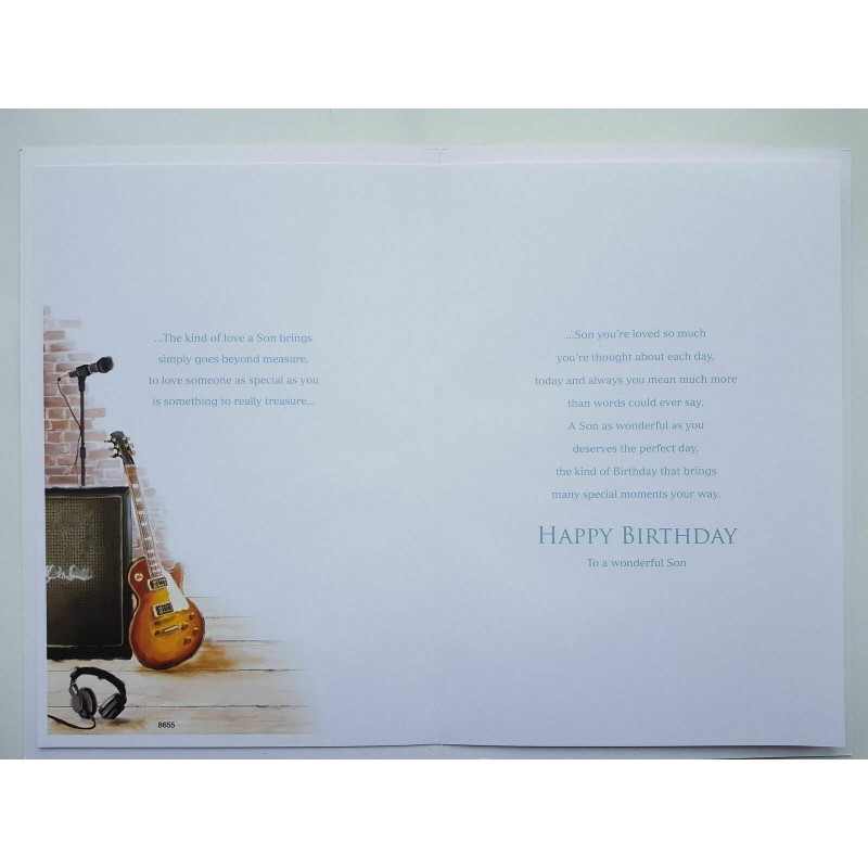 To A Great Brother For You Balloons Star & Present Design Happy Birthday Card