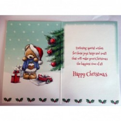 With Sympathy On The Loss Of Your Father Woodland Design Bereavement Card