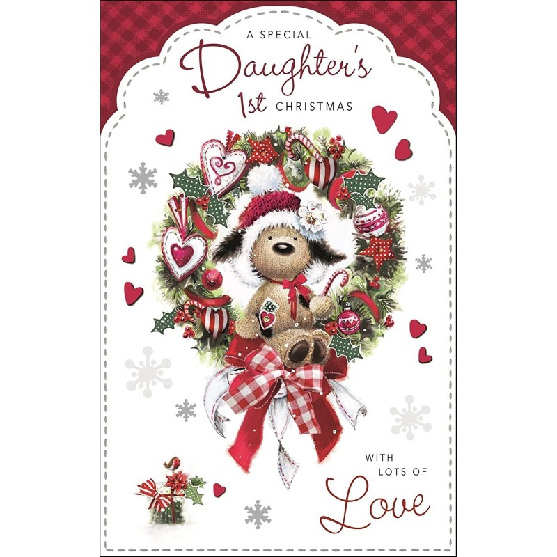 Daughter With Love Dress Shoes Bag Flowers Design Happy Birthday