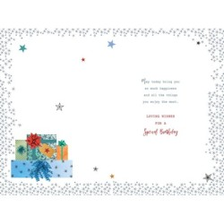 Thank You for a Wonderful Granddaughter New Baby Birth Grandparents Card