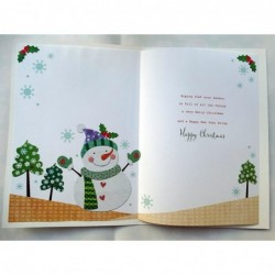 Friend Relax Radio Lamp Glasses Book Coffee & Biscuit Design Happy Birthday Card