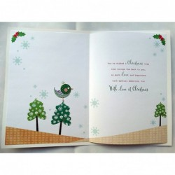 Niece Wishes Presents Gifts Pegs & Washing Line Design Happy Birthday Card