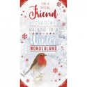 """""""Male Cousin Presents & Bunting Design Happy Birthday Card Lovely Verse """""""