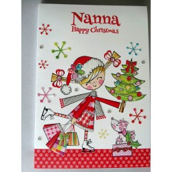 Congratulations On Your Golden 50th Anniversary Hearts Design Lovely Verse Card