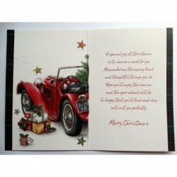To My Wonderful Fiancee Heart Design Lovely Verse Happy Birthday Quality Card